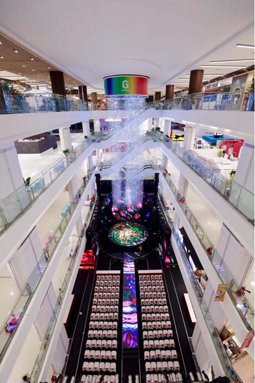 WiFi Marketing tại trung tâm thương mại Gigamall